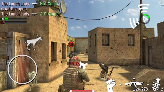 28 Giochi Multiplayer per iOS per Combattere la Noia - Trigger Fist