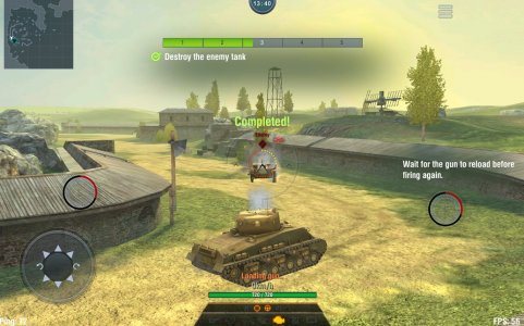 28 Giochi Multiplayer per iOS per Combattere la Noia - World of Tanks Blitz