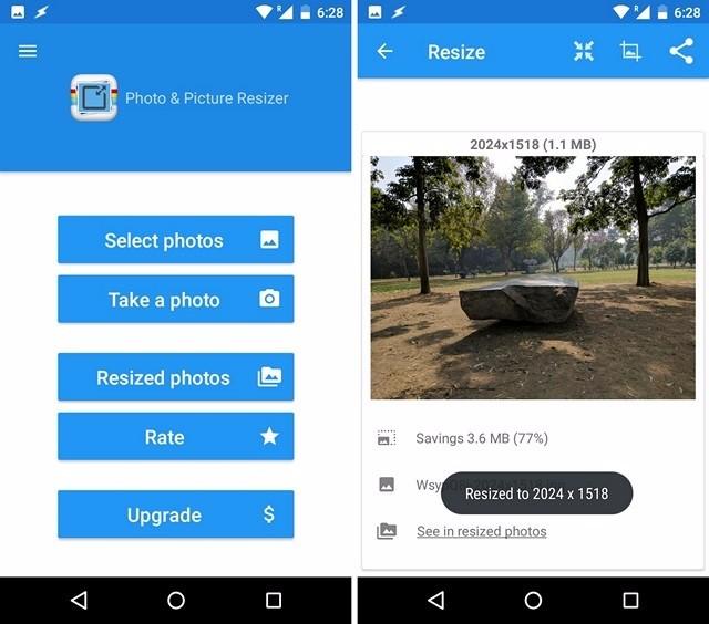 3 App per Ridurre le Dimensioni delle Foto su Android - Photo & Picture Resizer