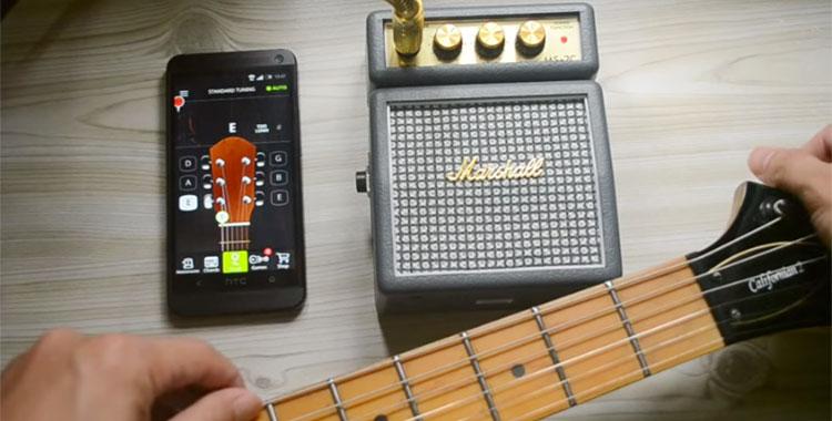 Le migliori app per accordare la chitarra su Android
