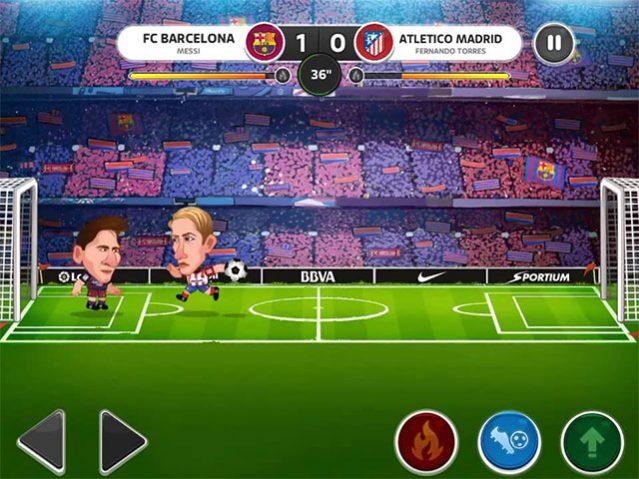I Migliori 15 Giochi di Calcio per Android del 2016 - Head Soccer LaLiga 2016
