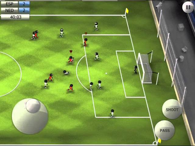 I Migliori 15 Giochi di Calcio per Android del 2016 - Stickman Soccer