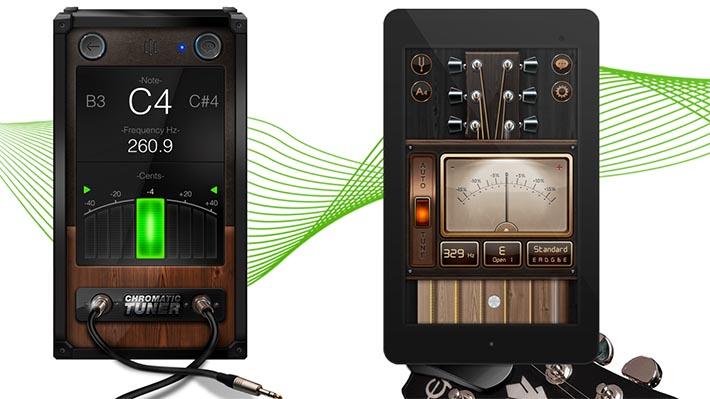 Le Migliori 10 App per Accordare la Chitarra per Android - Chromatic Guitar Tuner