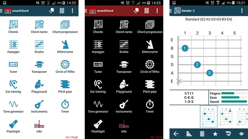 Le Migliori 10 App per Accordare la Chitarra per Android - Smart Chords and Tools