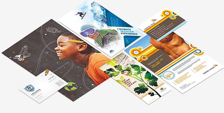 Modelli di volantini pubblicitari gratis per Photoshop