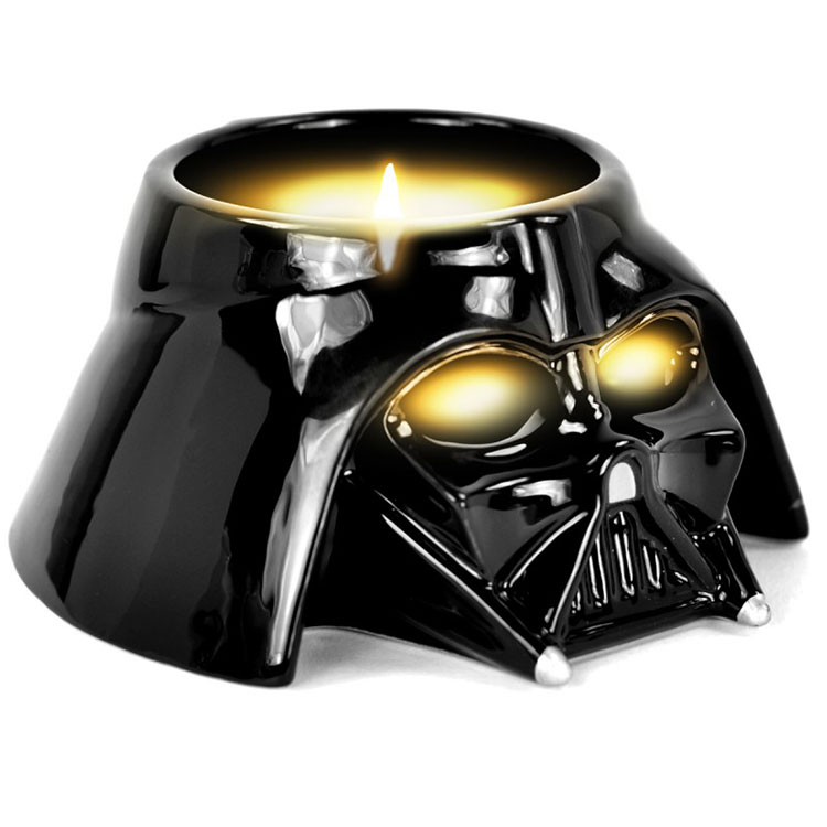 Porta-candela Darth Vader