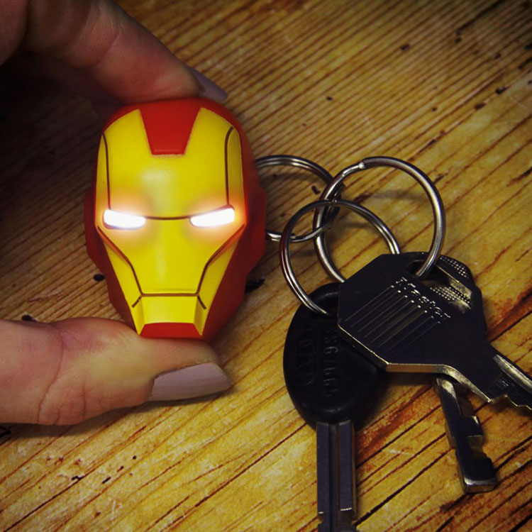 Portachiavi LED Iron Man