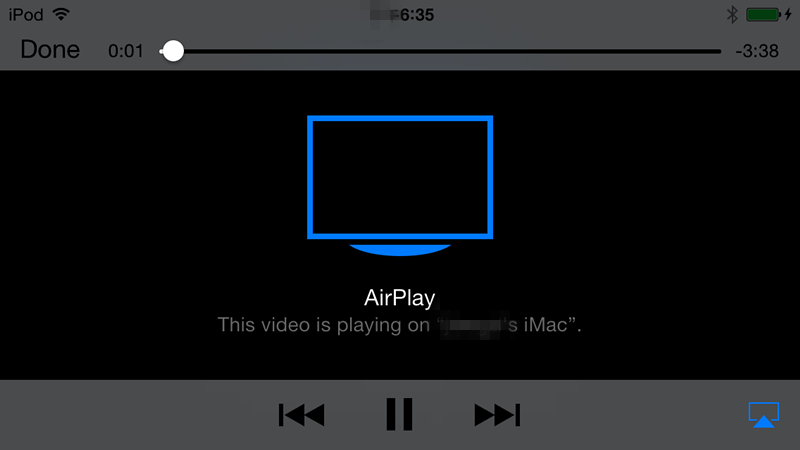 Riprodurre in Streaming i Video da iPhone o iPad sul PC - Pannello di controllo 5KPlayer
