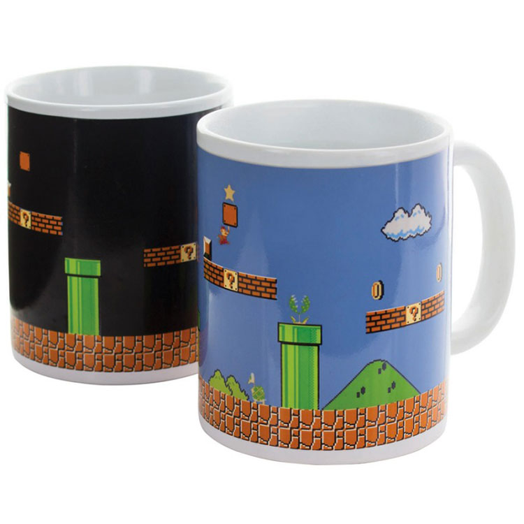Tazza termosensibile Super Mario
