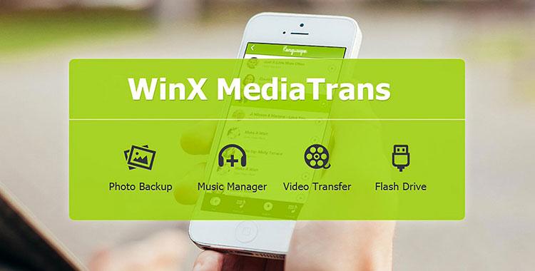 Immagine del software Winx MediaTrans