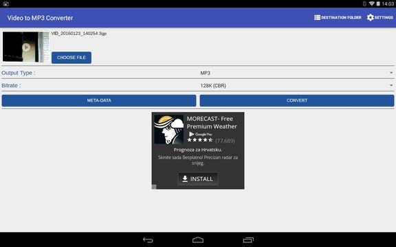 5 App Gratis per Estrarre Audio da Video su Android - Android Video to Mp3 Converter