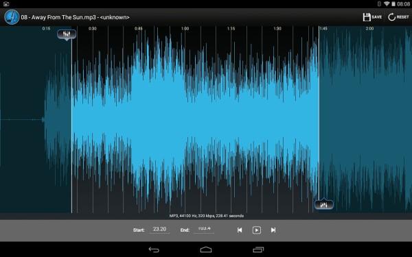 5 App per Tagliare File Audio MP3 su Android - MP3 Cutter by ukpiao