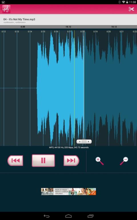 5 App per Tagliare File Audio MP3 su Android - Mp3 Cutter and Ringtone Maker by Sakib