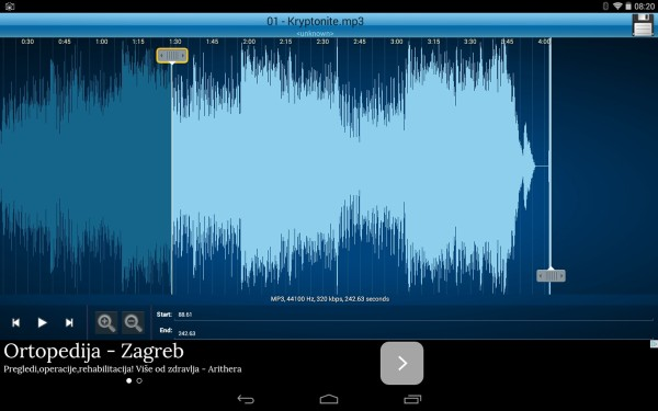5 App per Tagliare File Audio MP3 su Android - Mp3 Cutter and Ringtone Maker