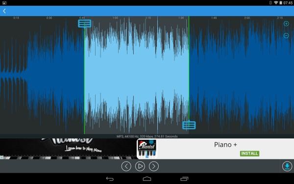 5 App per Tagliare File Audio MP3 su Android - Mp3 Cutter by accountlab