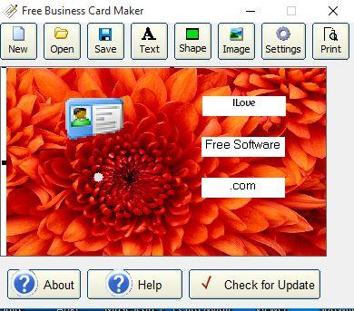 5 Programmi Gratis per Creare Biglietti da Visita su Windows 10 - Free Business Card Maker