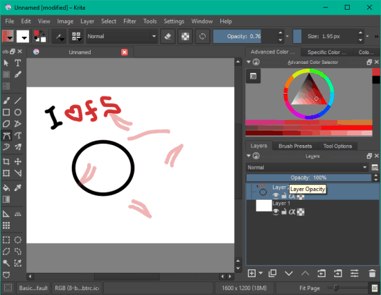 5 Programmi Gratis per Disegnare al PC per Windows 10 - Krita