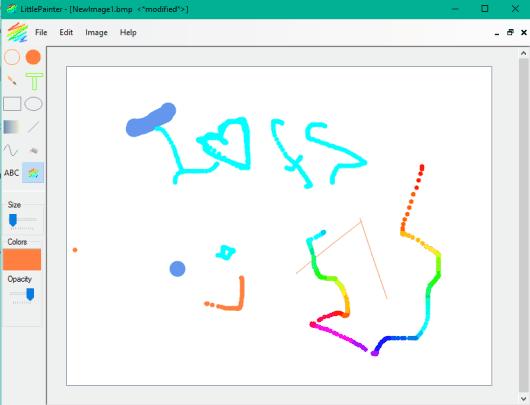 5 Programmi Gratis per Disegnare al PC per Windows 10 - LittlePainter