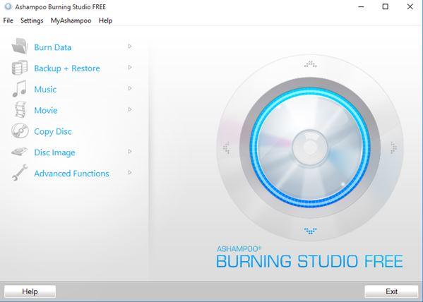 5 Programmi Gratis per Masterizzare Blu-Ray per Windows 10 - Ashampoo