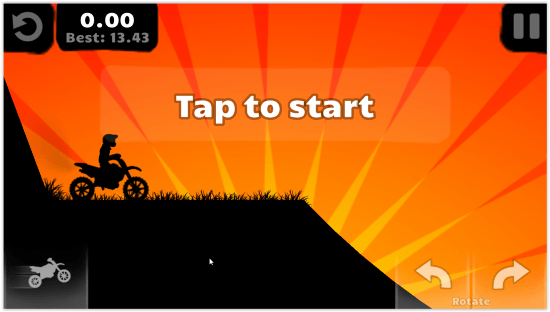 I Migliori 10 Giochi di Moto Gratis per Windows 10 - Sunset Bike Racer