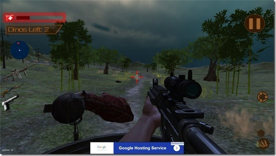 I Migliori 10 Sparatutto in Prima Persona Gratis per Windows 10 - Dino Jungle Hunt