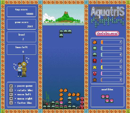 Tetris per Bambini 4 Giochi Online e Gratis - Aquatris