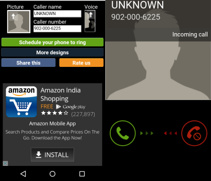 5 App per Chiamate Finte su Android - Fake Call 2