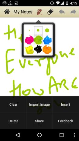 5 App per Scrivere Note a Mano Libera su Android - Handwriting