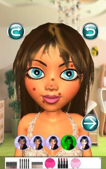 5 Giochi di Make Up per Android - Princess Salon