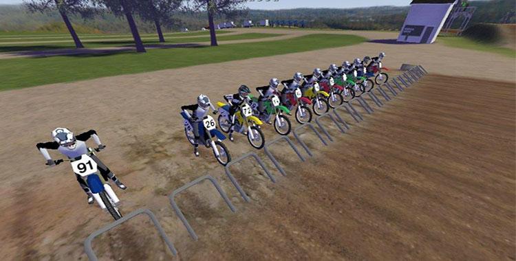 Siti con giochi di motocross online e gratis