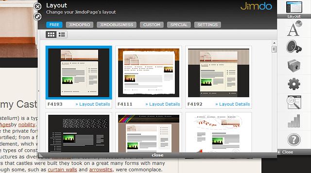 I Migliori 5 Servizi per Creare Siti Web Gratis - Jimdo.com