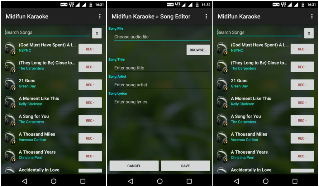 Le Migliori 5 App per Karaoke su Android - Midifun Karaoke