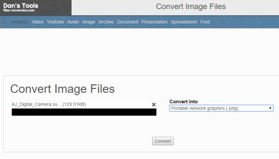 Siti per Convertire Immagini SVG in PNG - Files-conversion