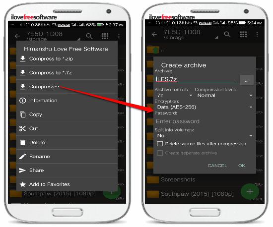 5 App per Comprimere File su Android - ZArchiver