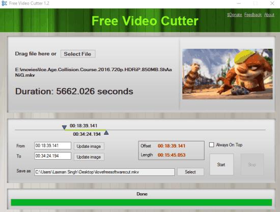 5 Programmi Gratis per Tagliare Video con Windows 10 - Free Video Cutter