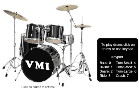 5 Siti per Suonare la Batteria Virtuale Online e Gratis - Virtual Musical Instruments