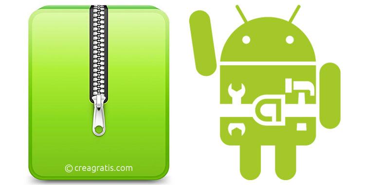 App per comprimere file su Android