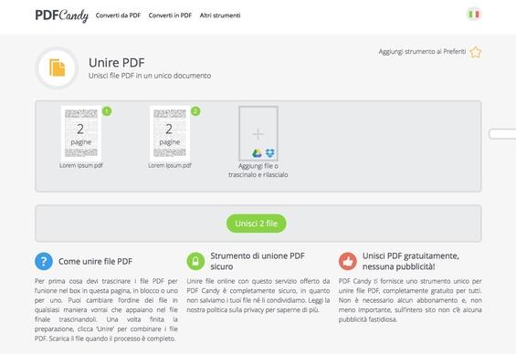 Come Modificare PDF Online - Come usare PDF Candy