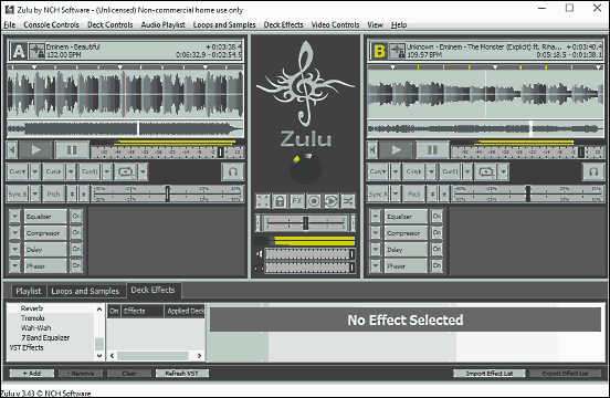 I Migliori 5 Programmi per DJ per PC - Zulu DJ