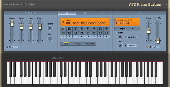 I Migliori 5 Programmi per Suonare il Pianoforte con il PC - A73 Piano Station