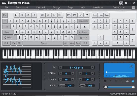 I Migliori 5 Programmi per Suonare il Pianoforte con il PC - EveryonePiano