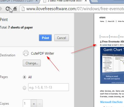 Le Migliori 5 Stampanti PDF Virtuali per Windows 10 - CutePDF Writer