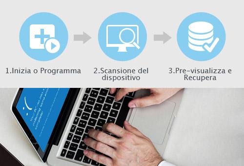 Programma per Recuperare File Cancellati o Formattati - Come usare EaseUS Data Recovery