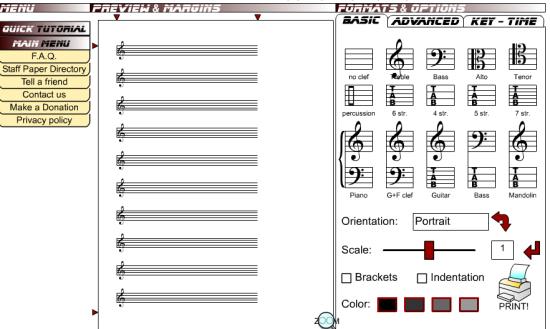 3 Siti per Creare Spartiti Musicali Online - Blank Sheet Music