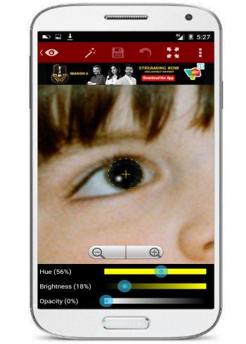 5 App per Eliminare gli Occhi Rossi dalle Foto con Android - Red Eye Removal