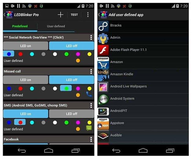 5 App per Personalizzare il LED di Notifica su Android - LED Blinker Notifications