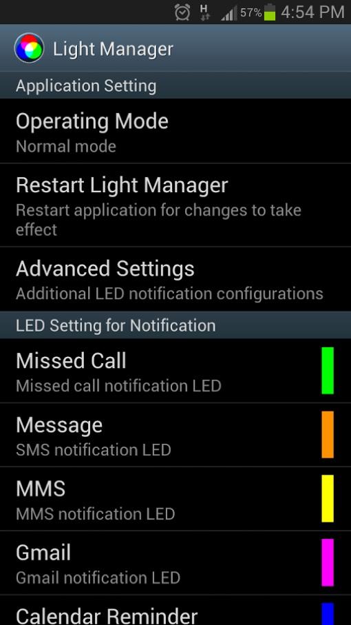 5 App per Personalizzare il LED di Notifica su Android - LED Notifications