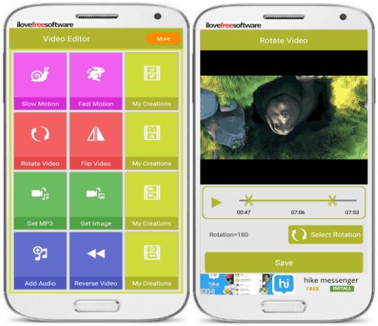 5 App per Ruotare Video su Android - Video Editor