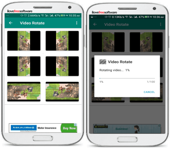 5 App per Ruotare Video su Android - Video Rotate Tool