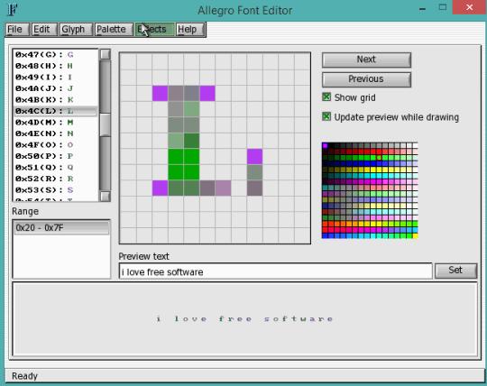 5 Programmi per Modificare Font Gratis - Allegro Font Editor